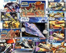 More details for star wars ships & vehicles boxed sets selection tcw potf2 episode 1 saga rots