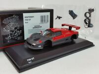 1:64 Kyosho Ferrari Minicar Collection F50 GT Test 1996 BPR Series GT1 Red/Black