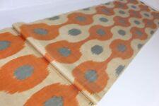 Ikat Fabric, Ikat Fabric by the yard, Hand Woven Fabric, Uzbek Fabric, FB 841