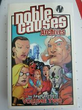 NOBLE CAUSES ARCHIVES VOLUME 2 TPB IMAGE COMICS VERY RARE OOP