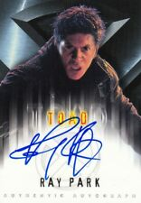 Topps X-Men Movie Rare Ray Park as Toad Auto Card