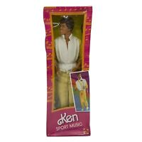 Mattel 1985 Sport Music Ken Doll Foreign Edition Mexico #2388 New Sealed Box