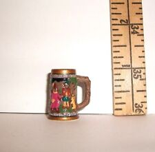 VINTAGE REPRO FOR KEN IN SWITZERLAND BEER CUP #0776 FASHION COMPLETER ACCESSORY