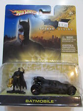 HOT WHEELS 2006  BATMAN BEGINS BATMOBILE WITH FIGURE