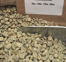 5# BRAZIL SANTOS UNROASTED GREEN COFFEE BEANS. PULPED NATURAL.  ARRIVED 6/5/18