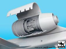 "Black Dog 1/48 A-10 Thunderbolt II ""Warthog"" Engine Detail Set (Italeri) A48036"
