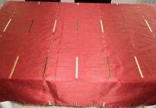 Tovaglie rossi in misto cotone