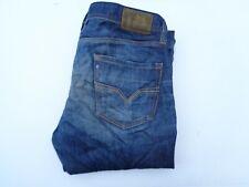 """Diesel Larkee DNA 008Y3 indigo jeans Waist 36"""" x Leg 32"""" mens regular straight"""