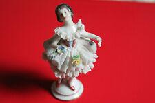 Porzellanfigur Mädchen Tänzerin 10 cm - unbekannte Marke V14417