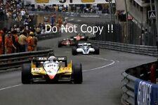 Alain Prost Renault RE30B Monaco Grand Prix 1982 Photograph 1