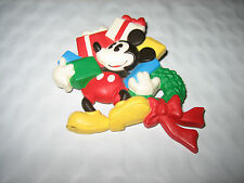 Ladies Disney Hallmark Mickey Mouse w/Gift Boxes Christmas Pin
