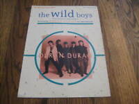 Duran Duran  The Wild Boys Sheet Music with Fold Out Poster! Rare!