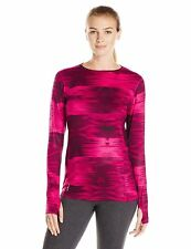 Champion Duofold Women Brushed Back Crew - Berry Delight Ice Castles - XL