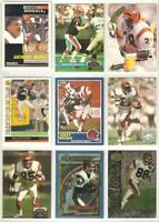 Bengals 445 card 1989-1995 lot-all different