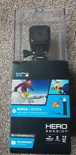 GoPro CHDCQ-102 Hero Session HD Waterproof Action Camera - Black + Accessories
