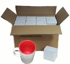 (1,39€/1Stk) Kaffeetassen Fototasse Kaffee Tassen Becher Sublimation 36 Stück WE