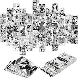 YINGENIVA 50PCS Anime Panel Aesthetic Pictures Wall Collage Kit, Anime Style Pho