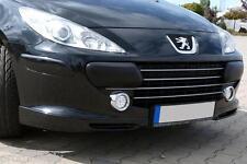 Peugeot 307CC 307 CC Convertible Cabrio front bumper flaps flap elerons spoiler