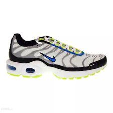 Nike Air Max Más Niños Niña Talla 5-6 Blanco Azul Rpr Nuevo en Caja 655020 115