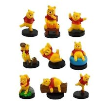 Winnie the Pooh Bear Playset 9 Figure Cake Topper * USA SELLER* Toy Doll Set