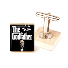 The Godfather Cufflinks Marlon Brando Godfather Movie Cufflinks Handmade Unique