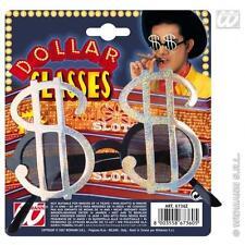 American Dollar Currency Symbol Glasses Novelty Sunglasses Fancy Dress Pimp