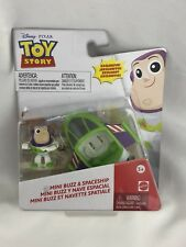 Disney Pixar Toy Story Mini Figure Buzz Light Year and Spaceship New