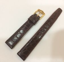 Gucci Burgundy leather watch strap 12mm X 10mm Authentic strap Mint condition.