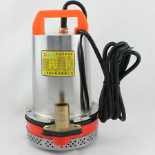 12V DC Solar Powered Submersible DC Water Well Pump 23FT Lift @ Action