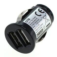 KFZ 12l24V Ladegerät USB Dual USB 2x USB für Handy Navi 2100mAh Highspeed