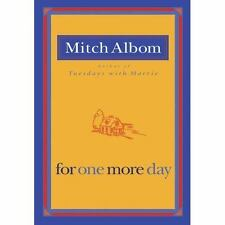 For One More Day, Mitch Albom, 1401309577, Book, Good