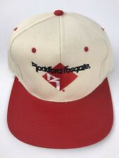 Vintage Rockford Fosgate Audio Logo Off White Snapback Hat Cap New Old Stock