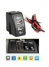 A incasso Uscita Doppia/Doppio caricabatteria USB Camion DAF XF 95/105 CF