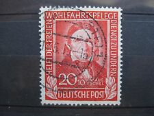 timbre allemagne : N° 5 F.W.AUG. FROBEL 1949