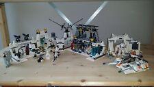 LEGO 7879 Hoth Echo Base + 8089 Hoth Wampa Cave + Building instruct. (STAR WARS)