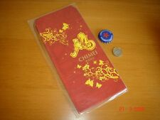 A sealed pack of CHIMEI Angpow Hongbao CNY envelops