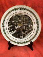 Department 56 CHRISTMAS CLASSIC SCENES Dinner Plate # VI