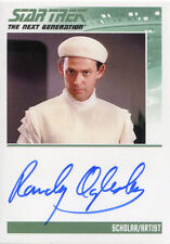Star Trek TNG Portfolio Prints S1 Autograph Card Randy Oglesby as Scholar Artist