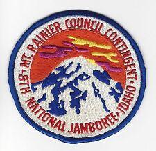 BOY SCOUT  MOUNT RAINIER COUNCIL  1973  JCP            WASH