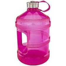 1 Gallon Plastique Durable Réutilisable Gourde pour Froid Liquides avec Vis Lid