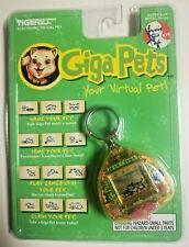 Giga Pets Micro Kitten Cat Keychain Tiger Electronics KFC Virtual Pet 1997