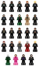 LEGO HARRY POTTER STATUETTE MIRCO MINIFIGURES TROPHY COMPLETE SET 24 FROM 71043