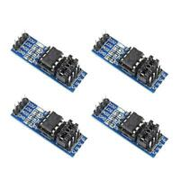 4Pcs AT24C256 EEPROM Memory Module 8P Chip Carrier Power Supply Indicator