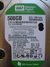 500 gb de Western Digital WD 5000 AACS - 00g8b1/ebnnht 2chb/2060-701590-000 Rev a