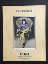 ROD STEWART SHEET MUSIC SONGS FRIM 1973, 92 PAGES