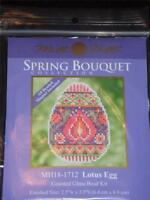 """MILL HILL  SPRING BOUQUET   - LOtUS EGG - MH18-1712 - 2.5"""" x 3.5"""""""