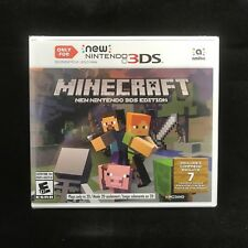 Minecraft New Nintendo 3DS Edition (ONLY for Nintendo NEW 3DS, 2017) BRAND NEW