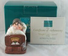 "WDCC ""Hmph! I Ain't Scared"" Grumpy from Fantasyland Attraction in Box with COA"