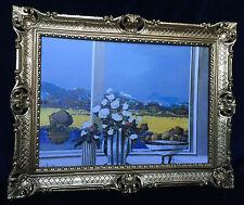 Pintura Paisaje 90x70 flores CUADRO FOTO CUADRO B16 mural