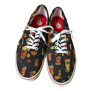 VANS Men's Hoffman Tiki Hawaiian Tropical Shoes 13